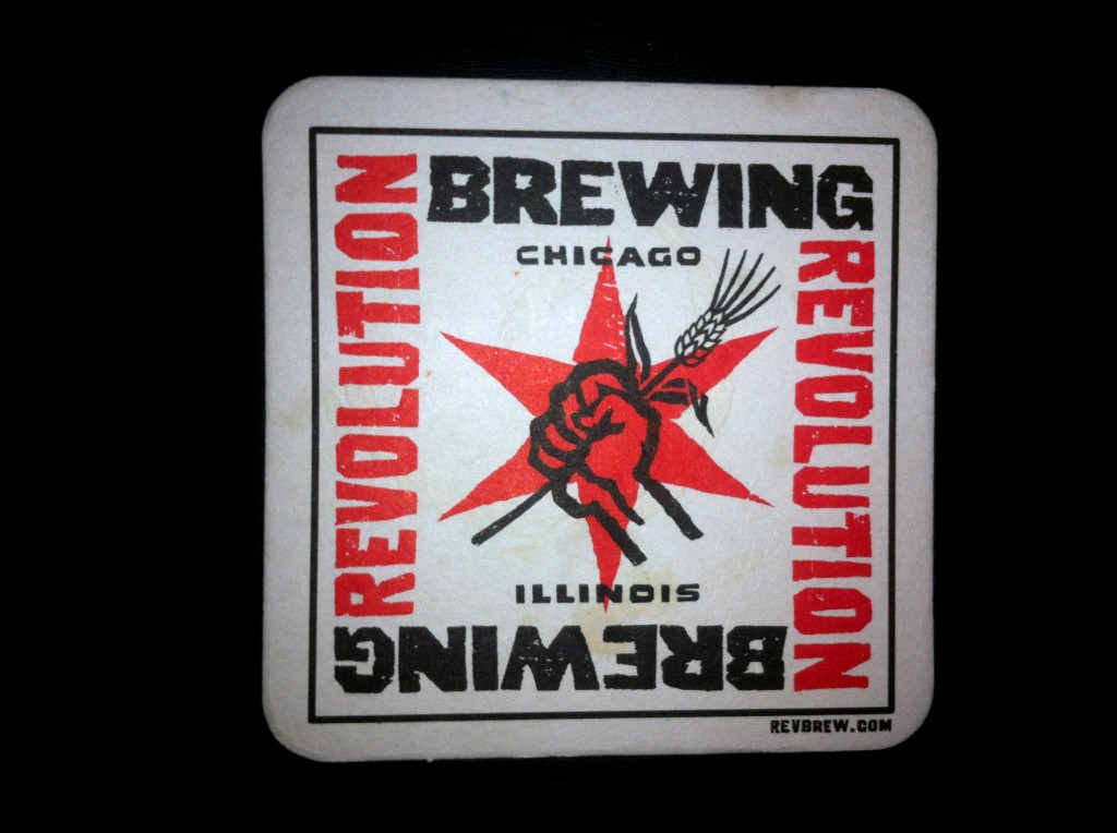 Revolution Brewing Coaster