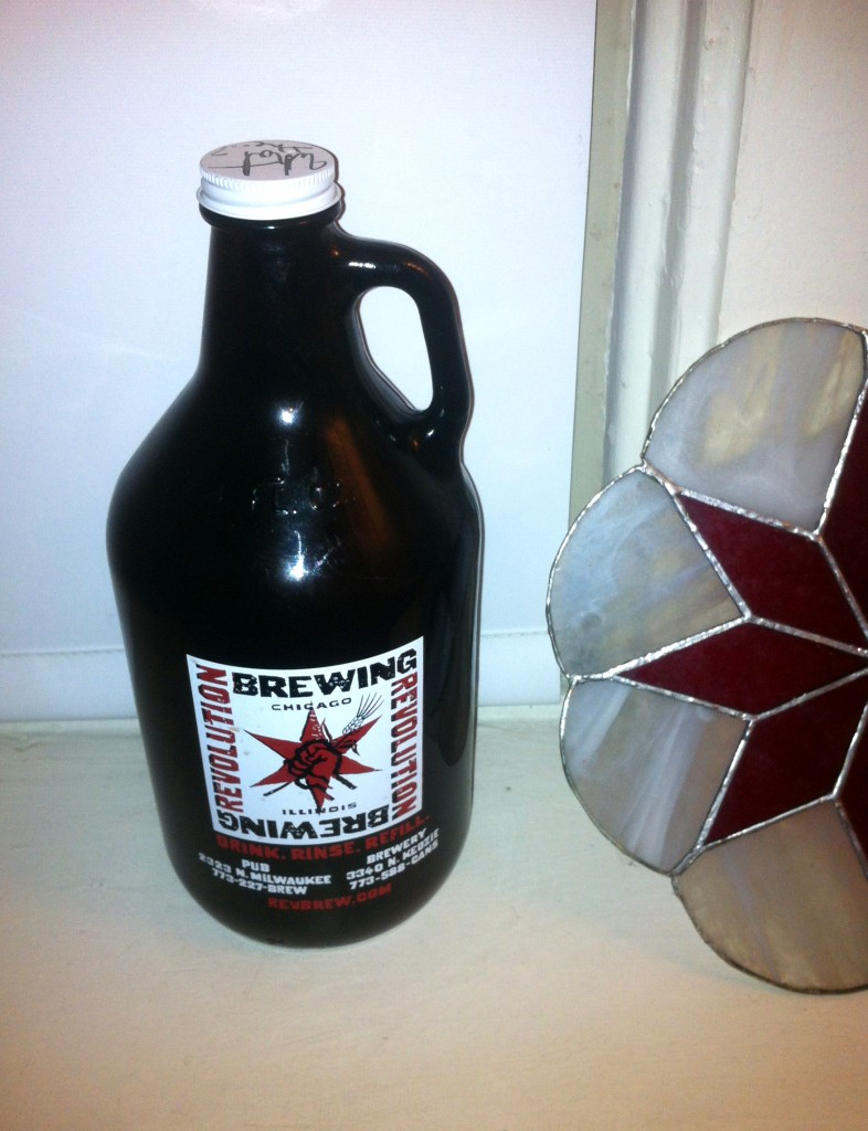 Revolution Brewing Growler