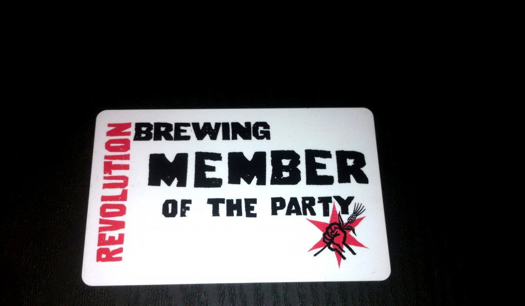 Revolution Brewing Member