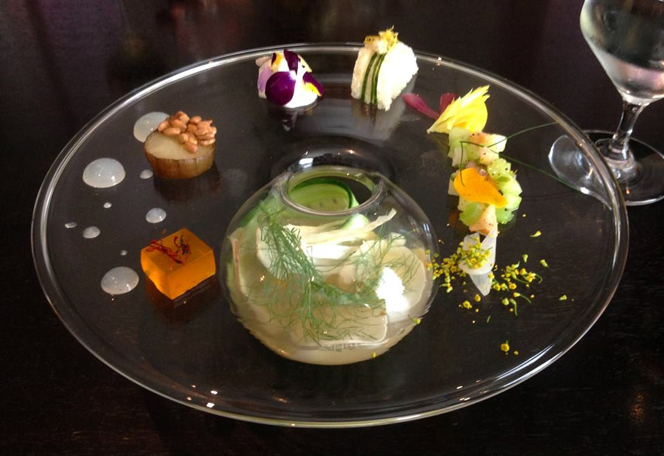 Dining at Alinea First Course