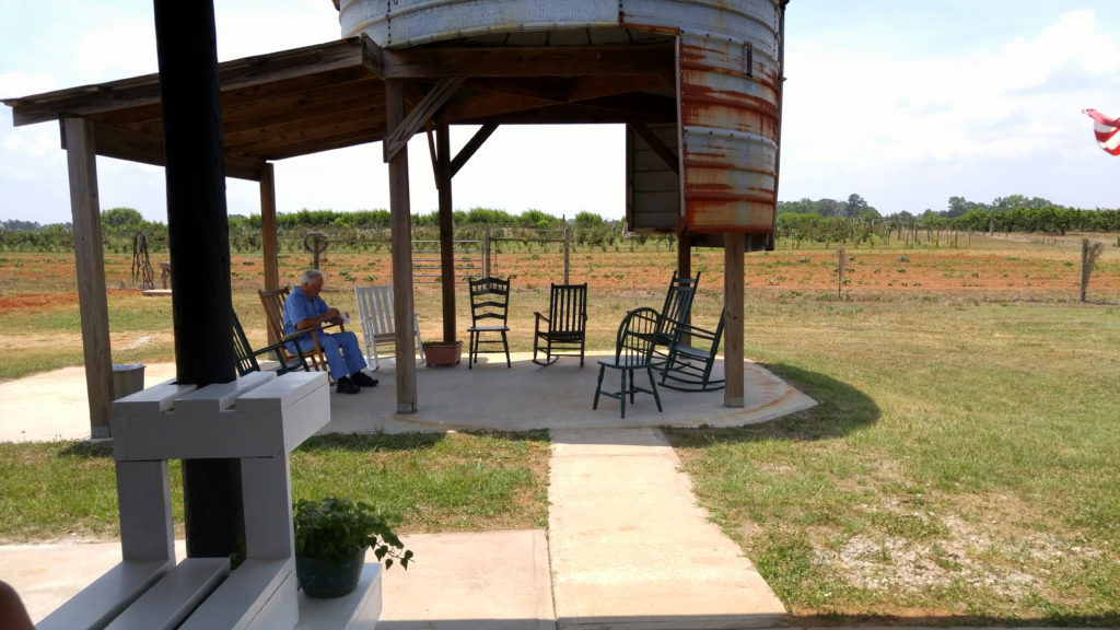 Gregg Farms' Gathering Place – Pick a Peach and Take a Seat!