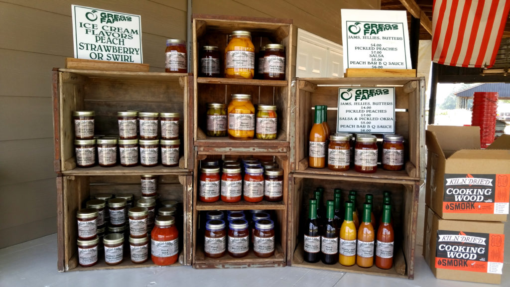 Gregg Farms' Jams, Jellies, Butters, Pickles, Condiments, and Sauces