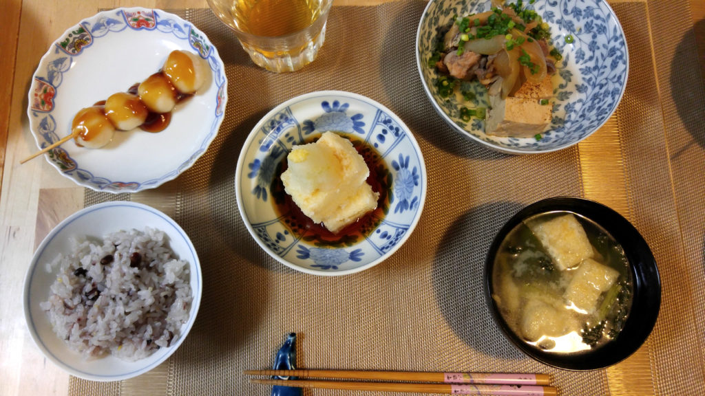 Mayuko's Little Kitchen Tofu Dinner