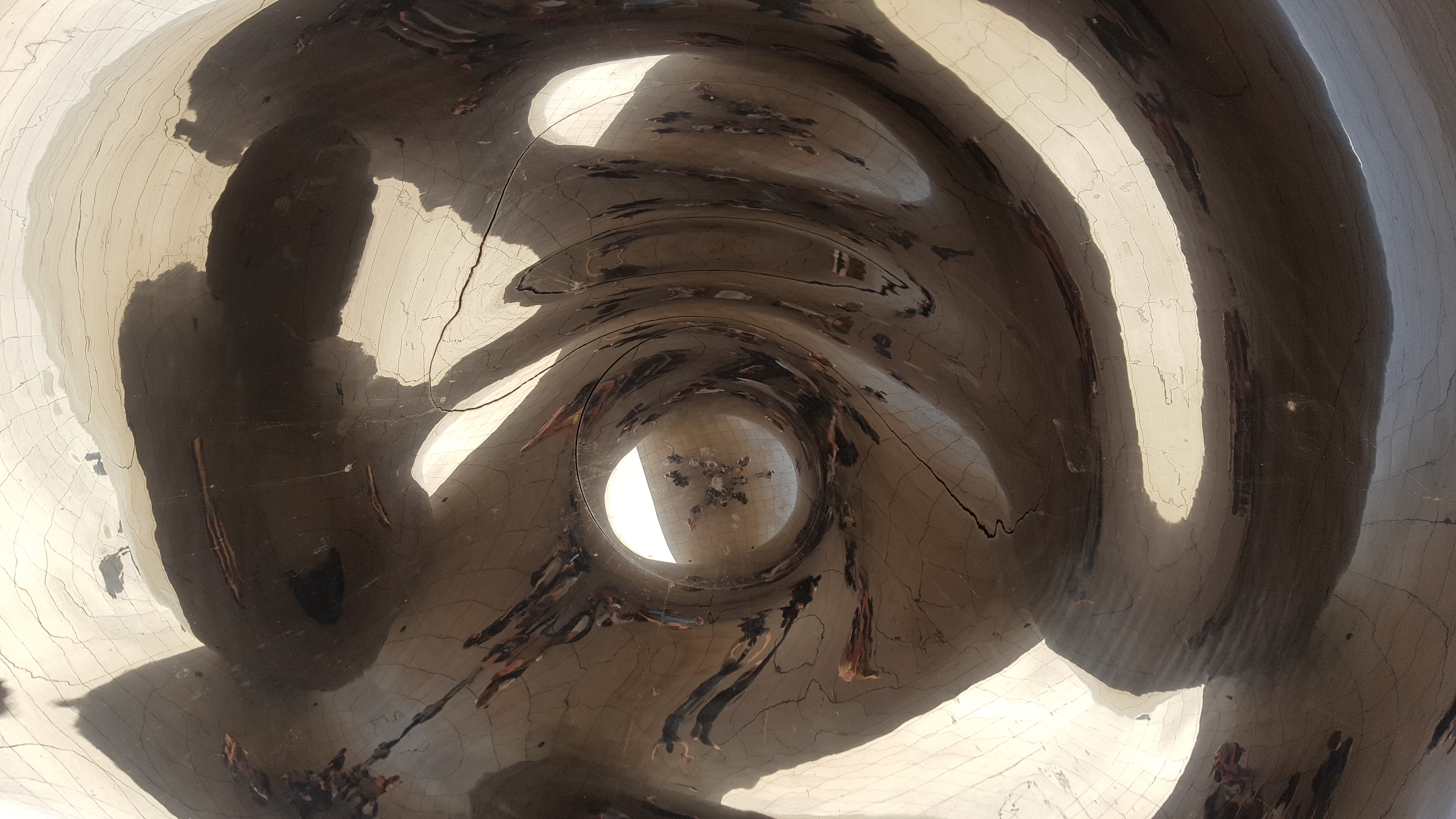 View from Underneath the Chicago Bean