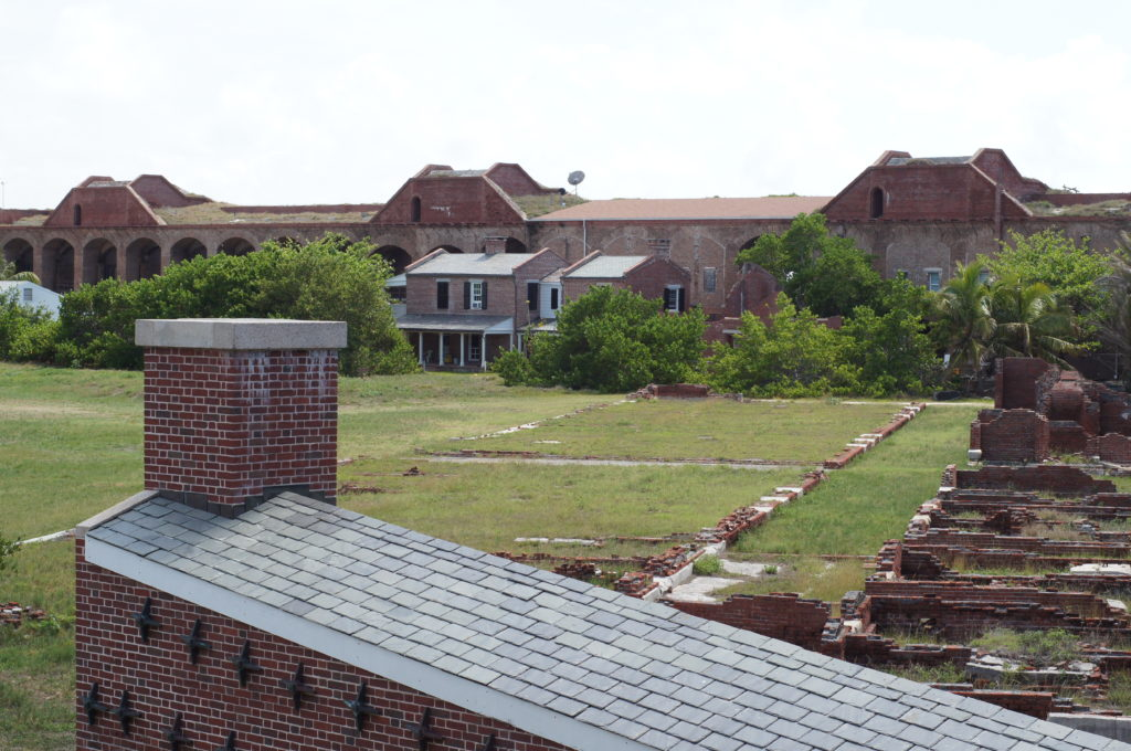 Hot Shot Furnace, Officers' Quarters, and Kitchen Foundations