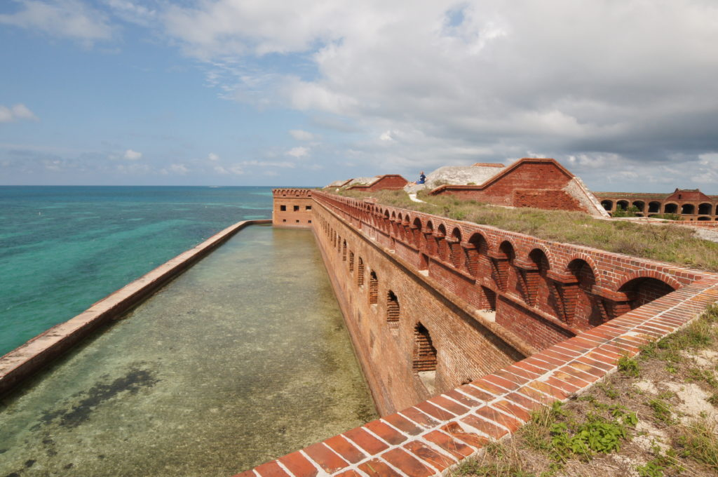 From the Battlements of Fort Jefferson in the Dry Tortugas National Park