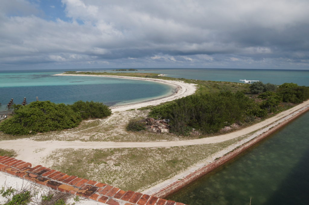 Bush Key, with Long Key in the Distance