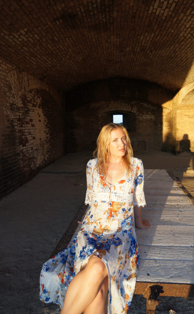 Me in the Lower Level of Fort Jefferson