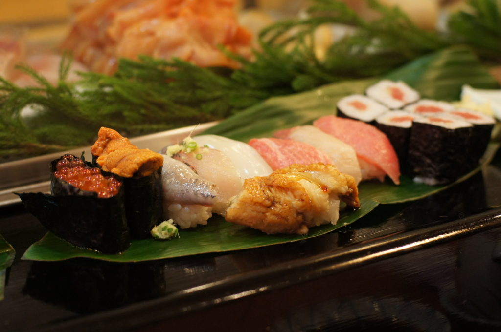Omakase Set at Iwasa Sushi