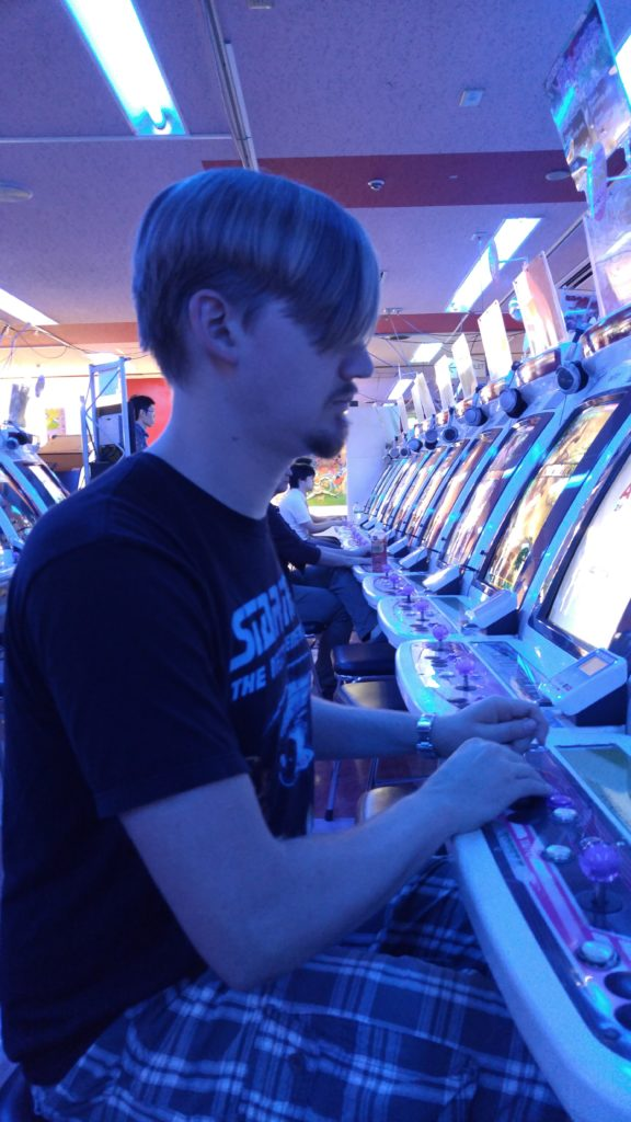 Rows of Arcade Games in Akihabara – So Many Games to play…