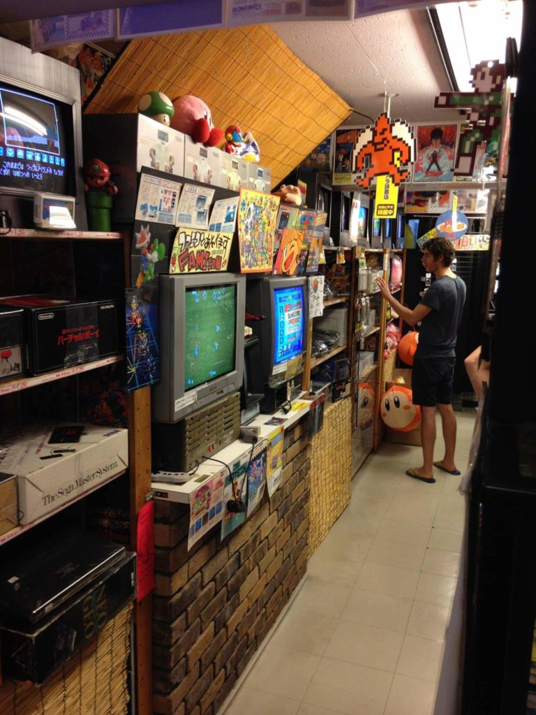 Retro Video Game Display and Consoles for Sale in Super Potato