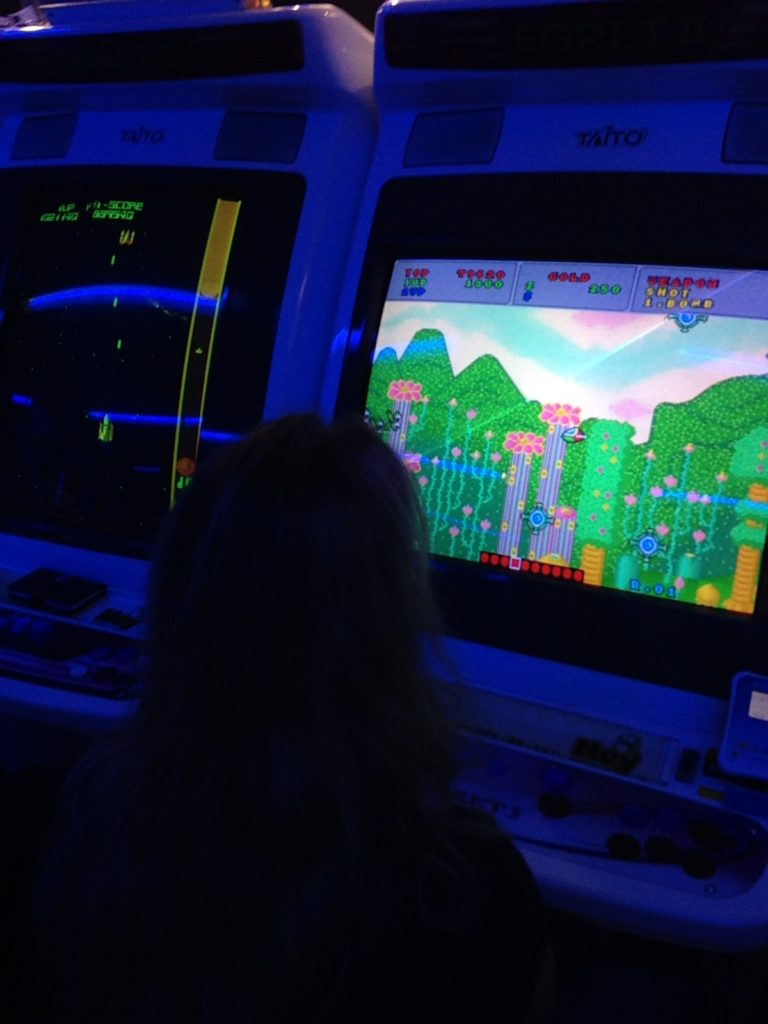 Playing Arcade Games in Akihabara