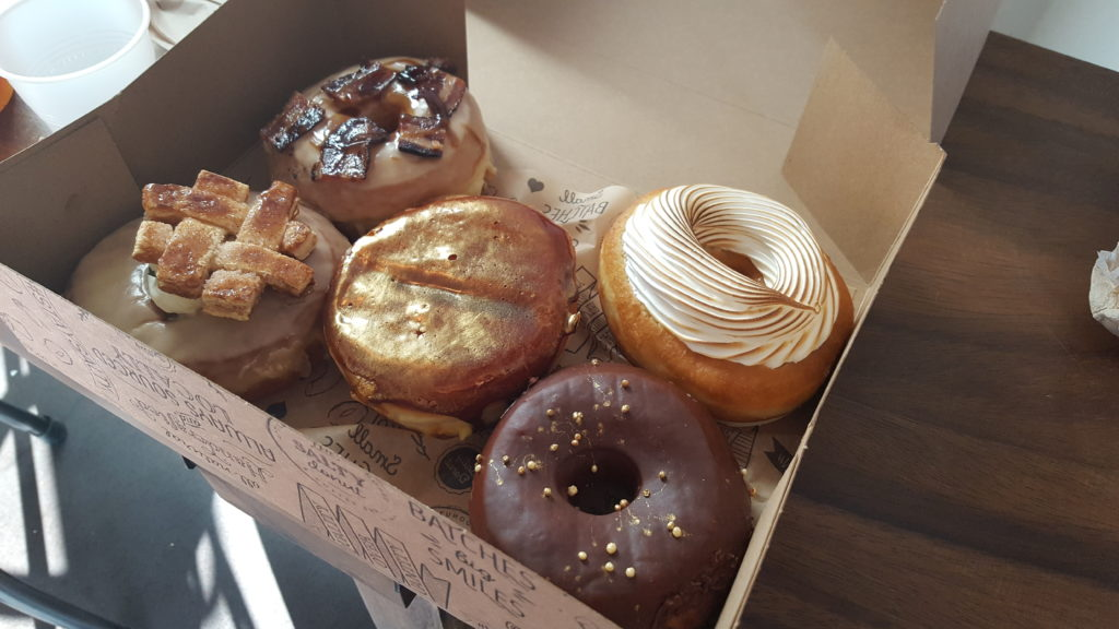 A Box of Donuts from the Salty Donut