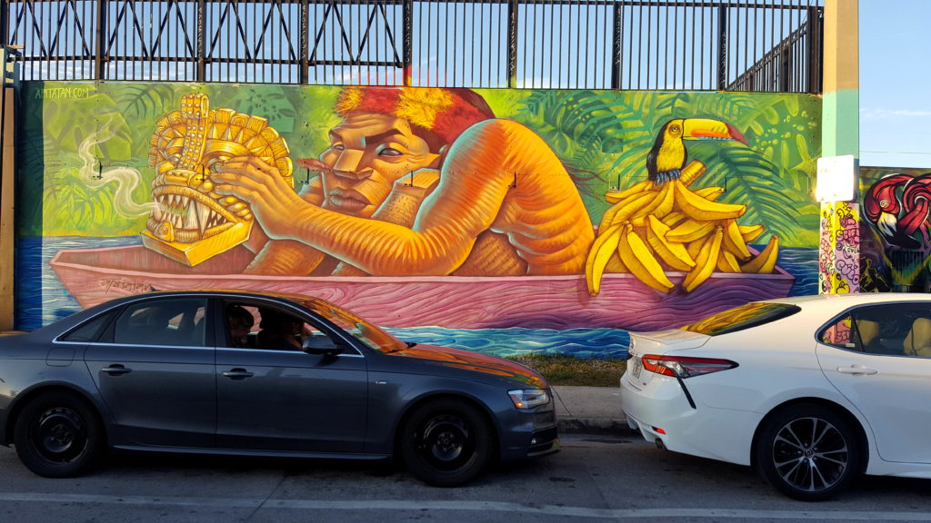 Colorful Street Art in Wynwood