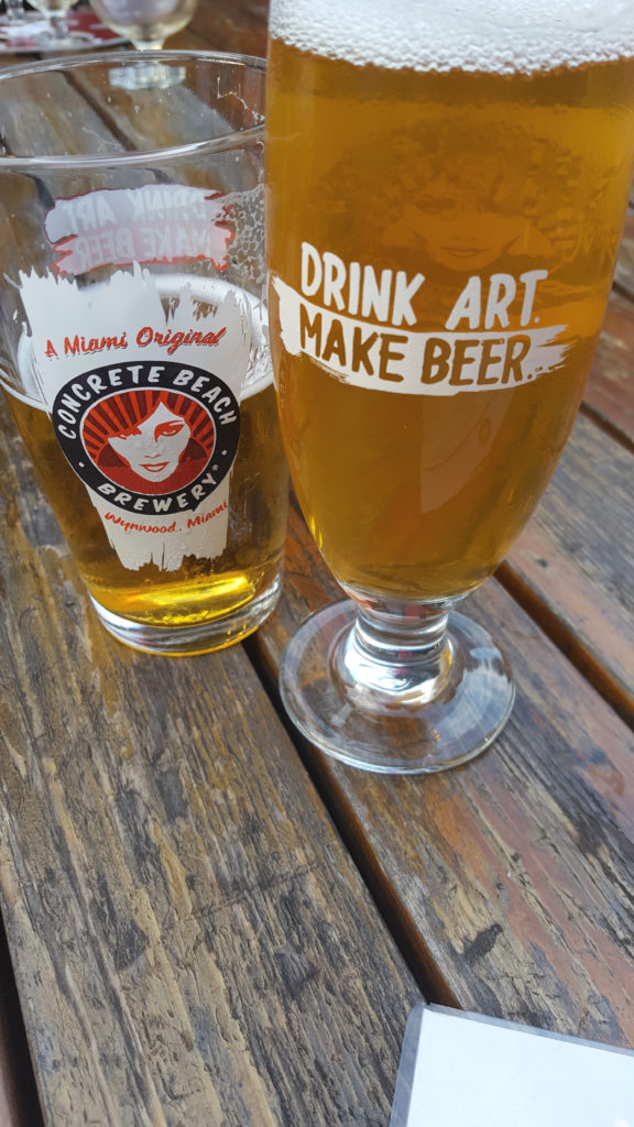 Drink Art Make Beer Glass at Concrete Beach Brewery