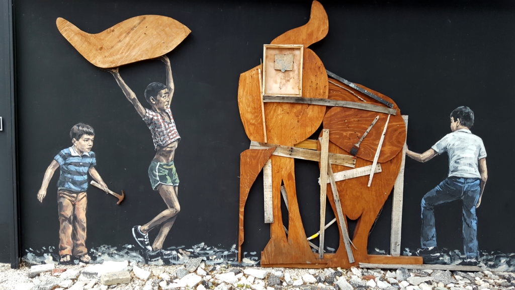 Ernest Zacharevic's Wynwood Walls Mural