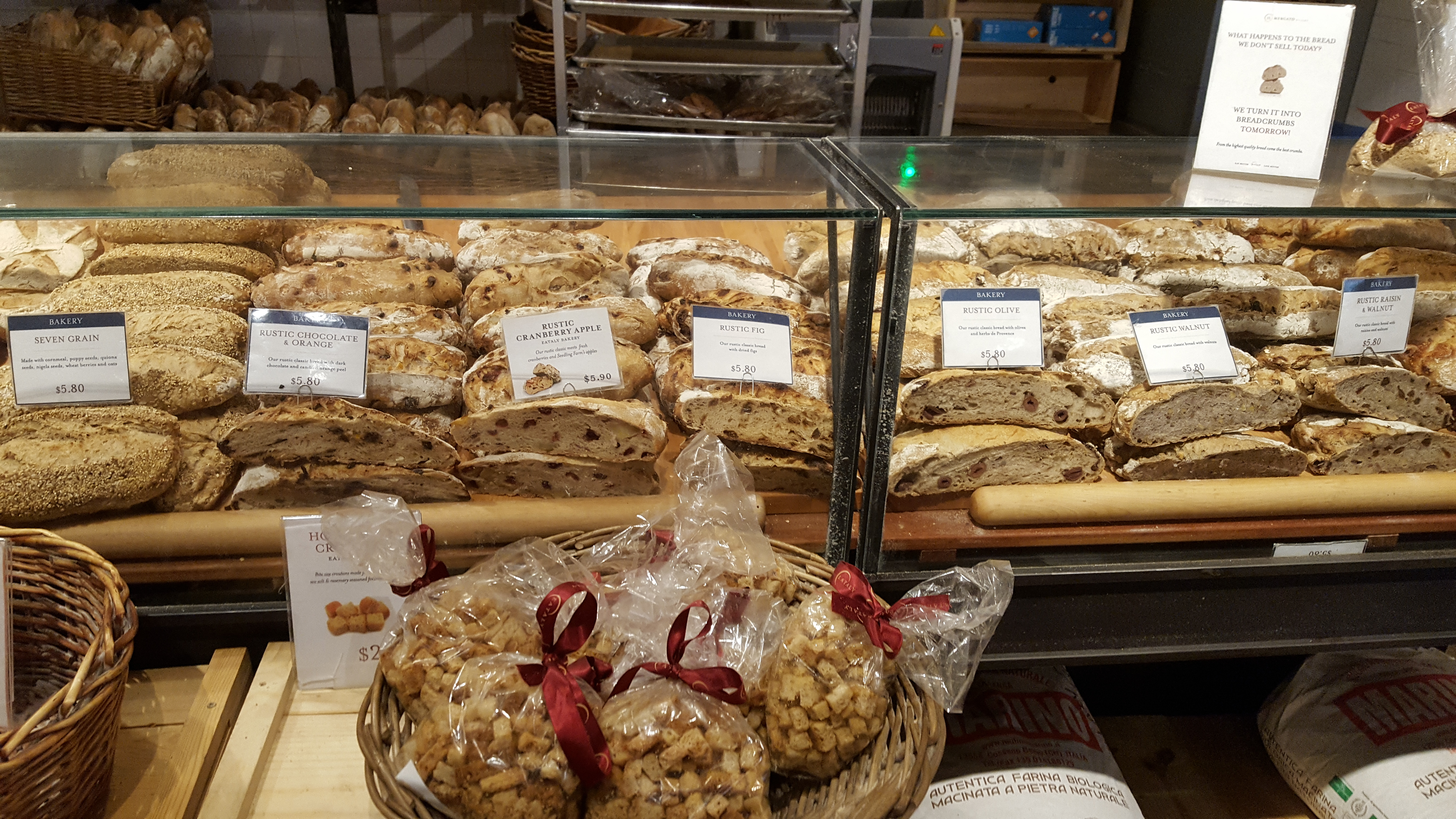 The Bakery at Little Eataly in Chicago - FLAVORFUL