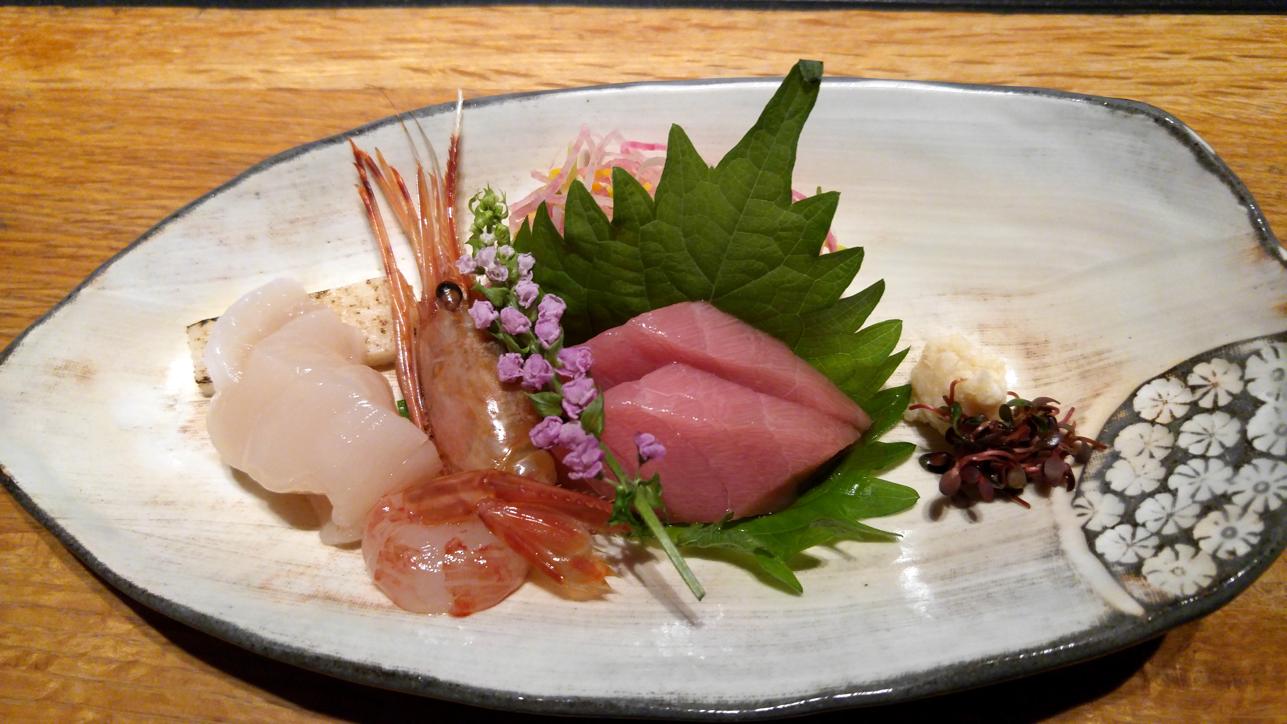 Raw Tuna In Toro Raw Scallops And Pink Shrimp Flavorful Journeys