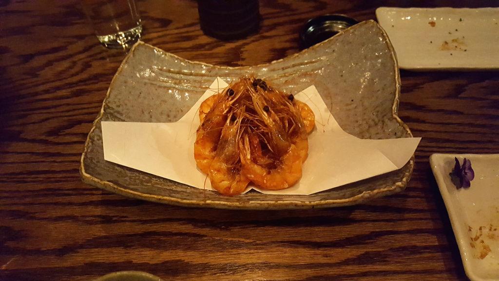 Raku's Crispy Fried Shrimp Appetizer